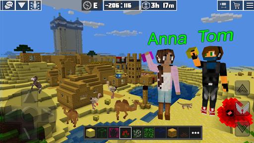 PlanetCraft: Block Craft Games apkpoly screenshots 11