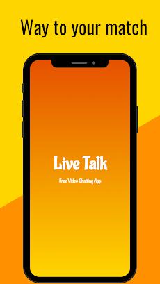 Live Talk - Random Video Chat with Strangersのおすすめ画像2