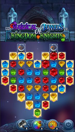 Magical Jewels of Kingdom Knights: Match 3 Puzzle apkdebit screenshots 8