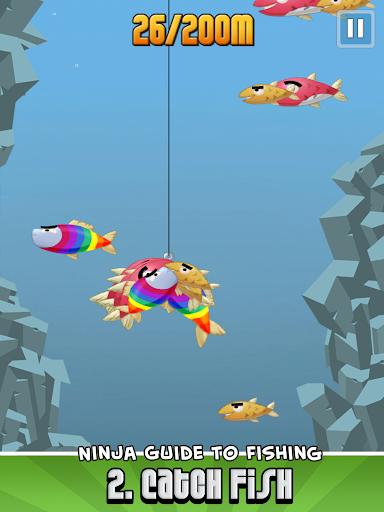 Ninja Fishing apkpoly screenshots 10