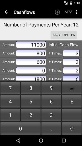 10bii Financial Calculator  screenshots 8