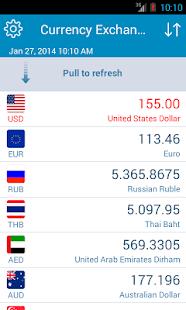 Currency Exchange Rates - Free