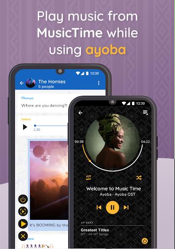 Ayoba! Free instant messaging 0.36.1 Screenshots 2