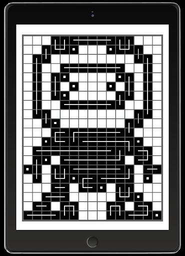 FCross Link-A-Pix puzzles 257 screenshots 21