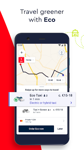 FREE NOW (mytaxi) - Taxi Booking App Apkfinish screenshots 2