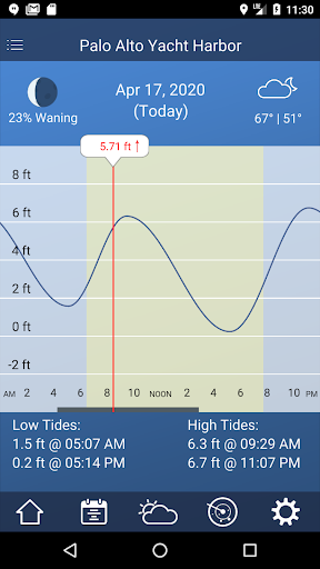 Tide Charts - Free 2.35 Screenshots 1