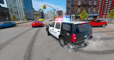 Police Car Drift Simulator