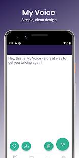 My Voice - Text To Speech (TTS)