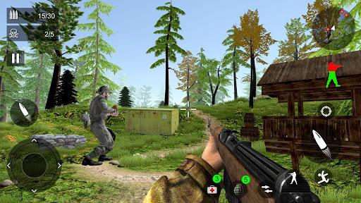 World War Firing Squad: Free FPS Fire Shooting 3D android2mod screenshots 4