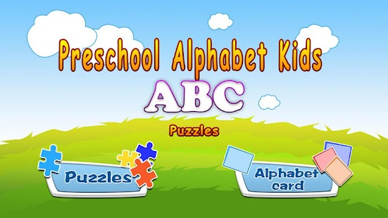 Alphabet jigsaw puzzle & flashcards kids game Screenshot