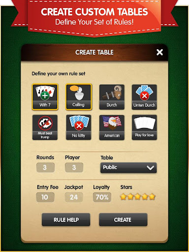 Pinochle (Free, no Ads) android2mod screenshots 16