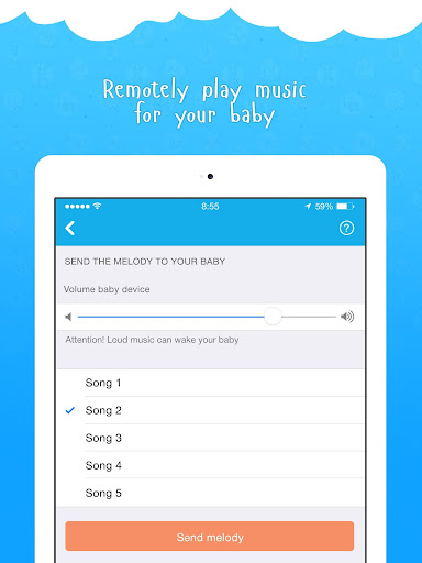 Ahgoo Baby Monitor - audio and video monitoring 2.1.73 Screenshots 6