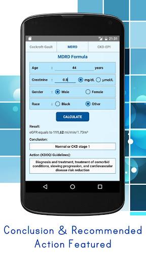 eGFR Calculators Pro: Estimate Renal Function 4.6 screenshots 2