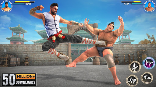 Kung fu fight karate offline games: Fighting games 3.52 screenshots 1