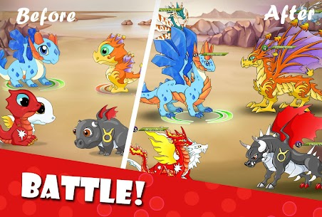 Dragon Battle Mod Apk (Unlimited Gold/Diamonds) 2