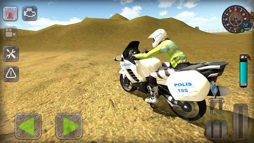 Trafik Polisi Motorsiklet Simülatör Oyunu 1.3 screenshots 3