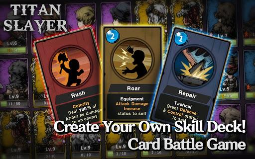 Titan Slayer: Roguelike Strategy Card Game  screenshots 1