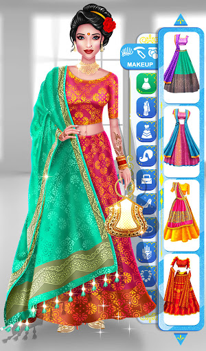 Wedding Fashion Stylist: Indian Dress up & Makeup 1.0 screenshots 11