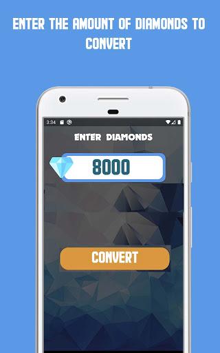 FF Blue   Free Diamonds Calculator dual function apktram screenshots 1
