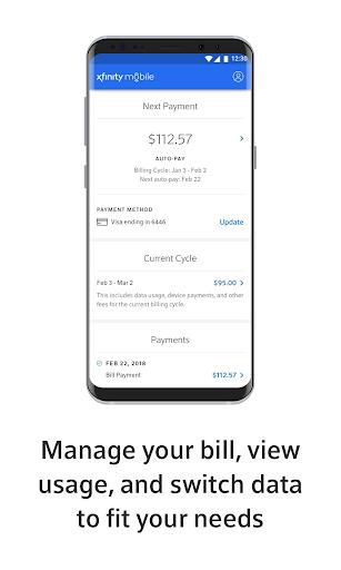 Xfinity Mobile screenshots 2