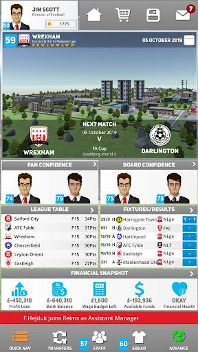 Club Soccer Director 2020 - Soccer Club Manager 1.0.81 Screenshots 1