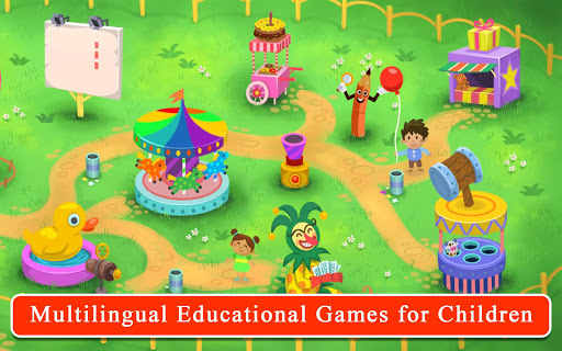 Kiddos in Amusement Park - Free Games for Kids apkpoly screenshots 2