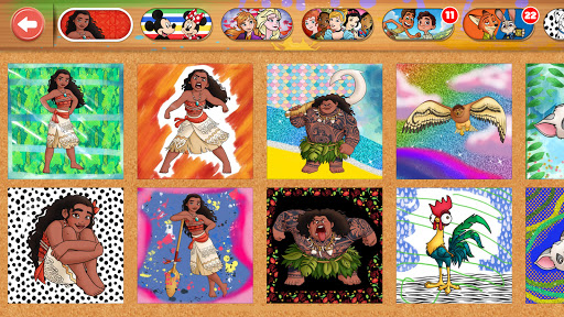 Disney Coloring World - Drawing Games for Kids 8.1.0 screenshots 24