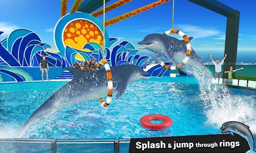 Dolphin Water Stunts Show  screenshots 5