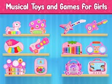 Pink Princess Musical Band - Music Games for Girlsのおすすめ画像1