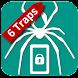 覗き見行動を監視 - I know it -6 Traps - Androidアプリ