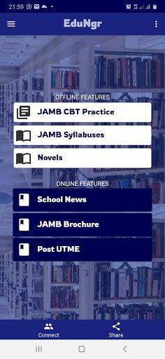 JAMB Past Questions & CBT (Offline)  screenshots 1
