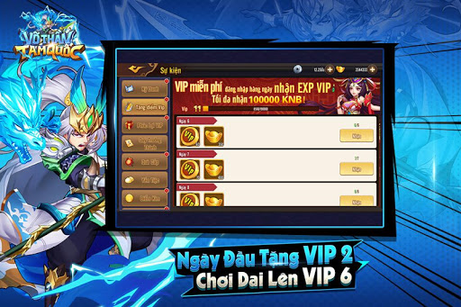 Vu00f5 Thu1ea7n Tam Quu1ed1c - Vo Than Tam Quoc 1.0.9 Screenshots 1