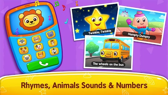 Baby Games Piano Baby Phone First Words Apk Download 1