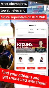 KIZUNA -SNS with Athletes- 5.0.8 Mod + Data Download 3