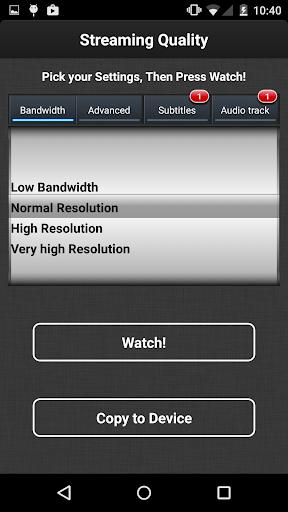 VLC Streamer Free 2.47 (3533) Screenshots 4
