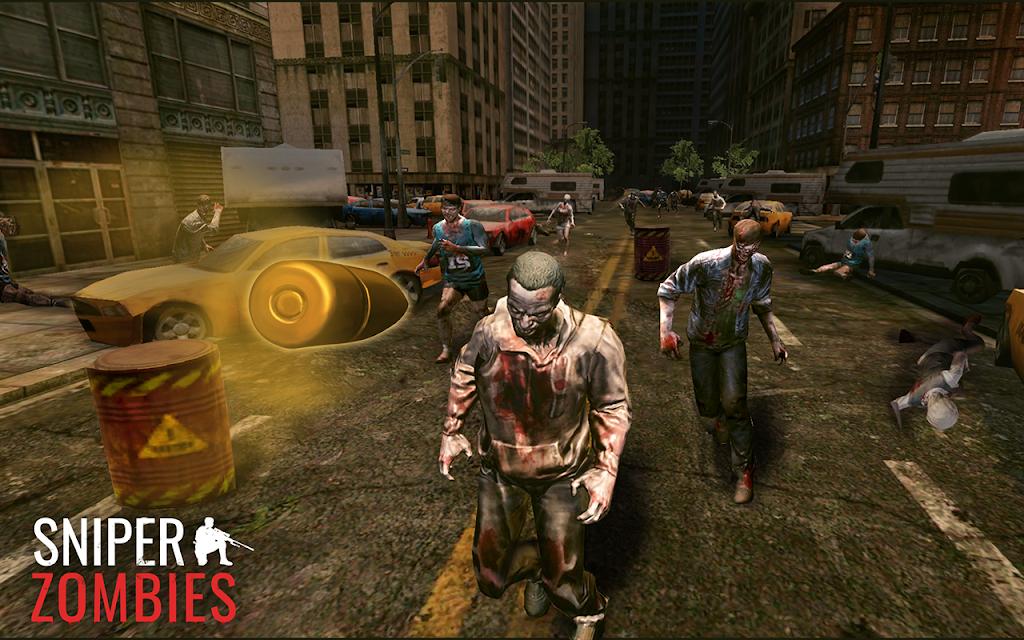 Sniper Zombies: Offline Games 3D  poster 3