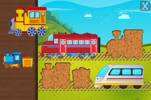 Trains Jigsaw Puzzles for Kids 3.6 screenshots 2