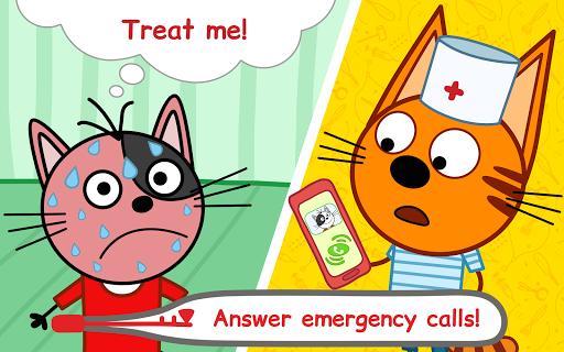 Kid-E-Cats Animal Doctor Games for Kidsu30fbPet Doctor  screenshots 8