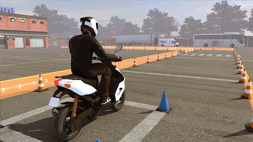 Real Bike 3D Parking Adventure: Bike Driving Games screenshots 1