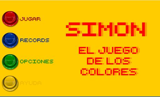 simon. el juego de los colores screenshot 3