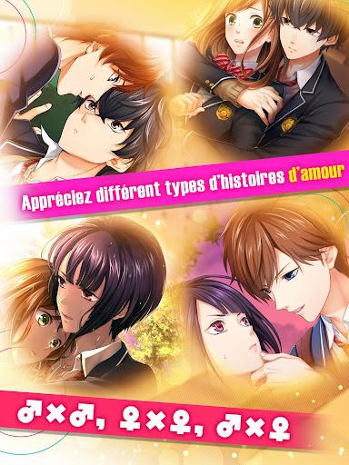 Code Triche Première Histoire d'Amour - Jeu Otome【yaoi・yuri】 (Astuce) APK MOD screenshots 6