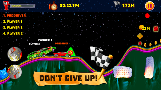 Race Car Climbing Screenshot