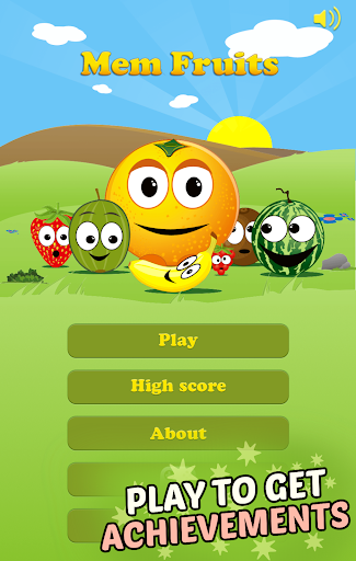Mem Fruits: find pairs, concentration  screenshots 5