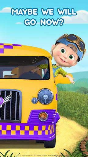 Masha and the Bear: Climb Racing and Car Games apkslow screenshots 8