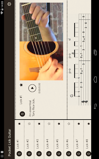 Pocket Lick: Guitar For PC Windows (7, 8, 10, 10X) & Mac Computer Image Number- 7