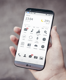 [UX6] Simple Theme LG G5 V20 Screenshot