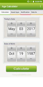 Age Calculator 3.0 Mod APK (Unlimited) 2