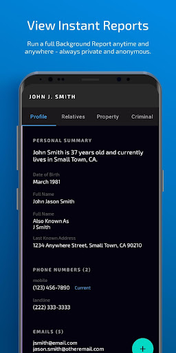 IdentityWatch (Background Check and People Search) 4.0 screenshots 3