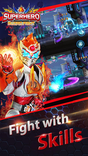 Superheroes Fight: Sword Battle - Action RPG screenshots 6