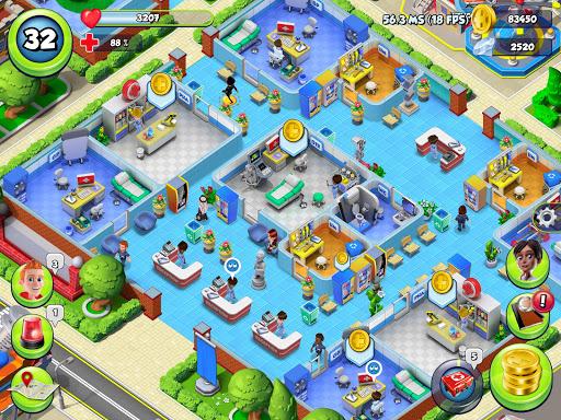 Dream Hospital - Health Care Manager Simulator apkpoly screenshots 16